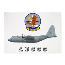 42nd ACCS ABCCC with Patch and Text 5'x7'Area Rug