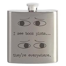 I see book plots... (black) Flask
