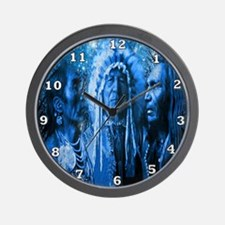 Three Chiefs Wall Clock