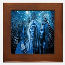 Three Chiefs Framed Tile