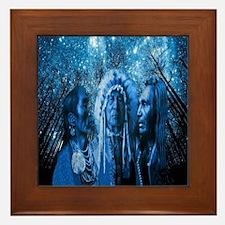 Three Chiefs Framed Tile