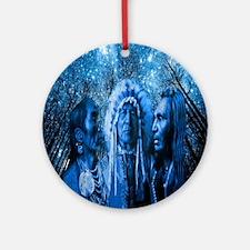 Three Chiefs Ornament (Round)