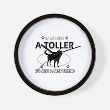 toller designs Wall Clock