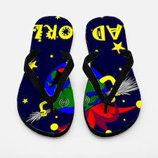 Mad World Flip Flops