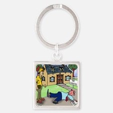 Thats Just an Estimate Square Keychain