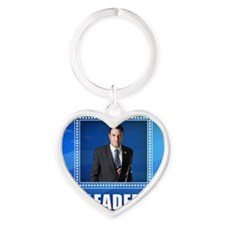 Leader: This is What One Looks Like Heart Keychain