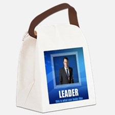Leader: This is What One Looks Li Canvas Lunch Bag