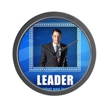 Leader: This is What One Looks Like Wall Clock