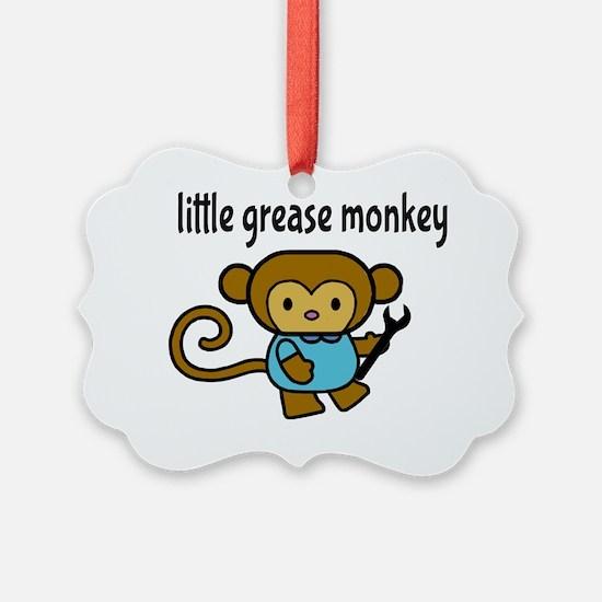 Little Grease Monkey Ornament