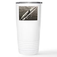 uss dogfish large framed print Travel Mug
