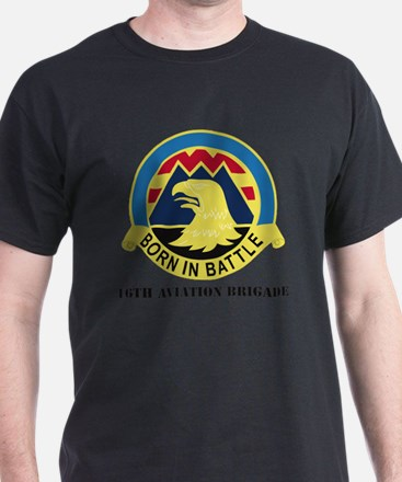 16th Aviation Brigade with Text T-Shirt