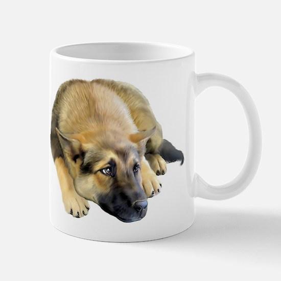 German Shepherd Dog Pup Mug