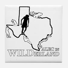 Alec in Wilderland Tile Coaster
