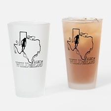 Alec in Wilderland Drinking Glass