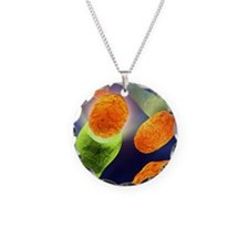 Anthrax bacteria Necklace