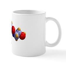 Anandamide neurotransmitter molecule Mug