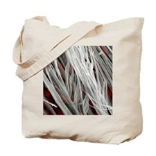 Asbestos fibres, SEM Tote Bag