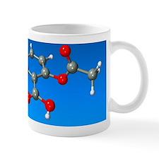 Aspirin molecule Mug