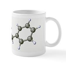 Amphetamine drug molecule Mug