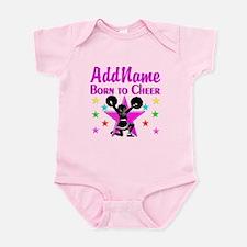 BORN TO CHEER Infant Bodysuit