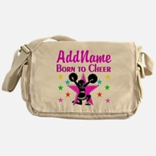 BORN TO CHEER Messenger Bag