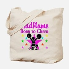 BORN TO CHEER Tote Bag
