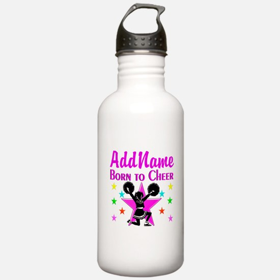 BORN TO CHEER Water Bottle