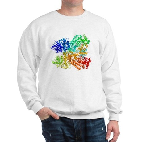Anthrax lethal factor protein Sweatshirt