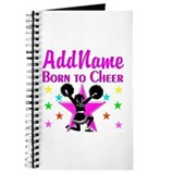 Cheerleading personalized Journals & Spiral Notebooks