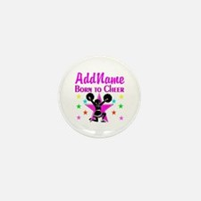 BORN TO CHEER Mini Button (10 pack)