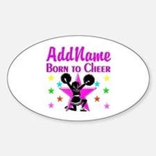 BORN TO CHEER Decal