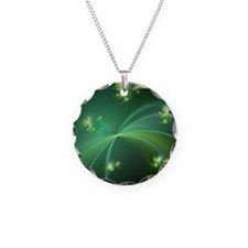 Atomic particle decay, artwo Necklace
