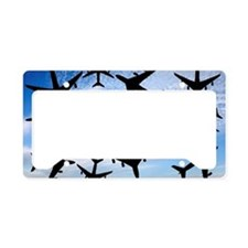 Air traffic, conceptual image License Plate Holder