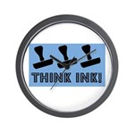 Rubber Stamping - Think Ink Wall Clock