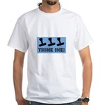 Rubber Stamping - Think Ink White T-Shirt