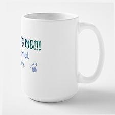 pug farted Large Mug
