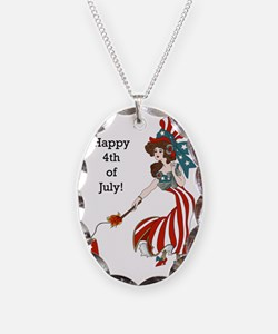 Miss 4th of July Necklace