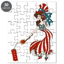Miss 4th of July Puzzle