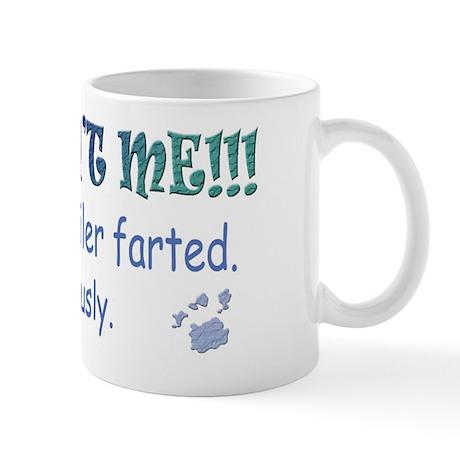 rottweiler farted Mug
