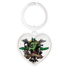 Skygod Roots Heart Keychain