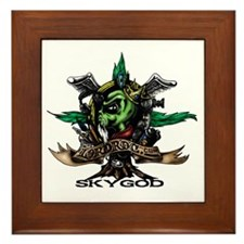 Skygod Roots Framed Tile