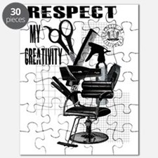Hair Styling Tools Respect shirt Puzzle
