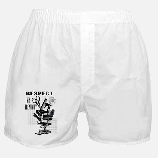 Hair Styling Tools Respect shirt Boxer Shorts