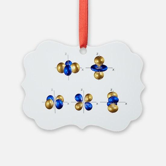 3d electron orbitals Ornament