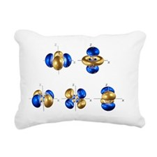 4d electron orbitals Rectangular Canvas Pillow