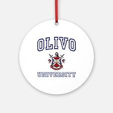 OLIVO University Ornament (Round)
