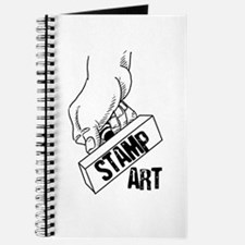 Rubber Stamp Art Journal