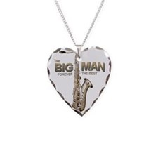 RIP Big Man Clarence Clemons Necklace