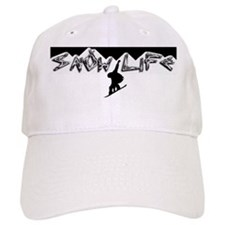 Snow life White mountain Boarder Baseball Cap