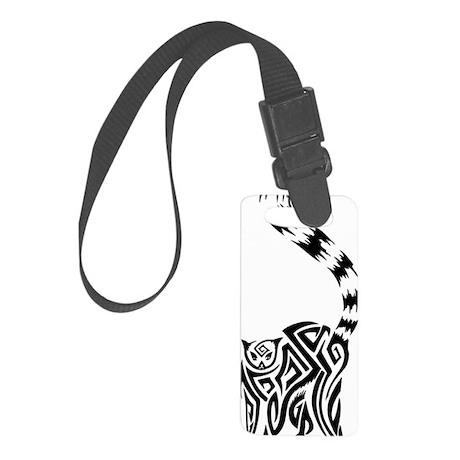 Black Lemur Small Luggage Tag